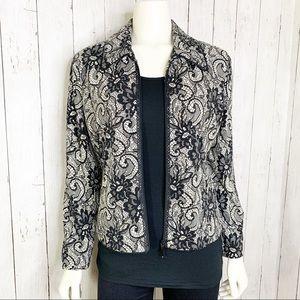 {Joseph Ribkoff} Vintage Designer Sequins Jacket